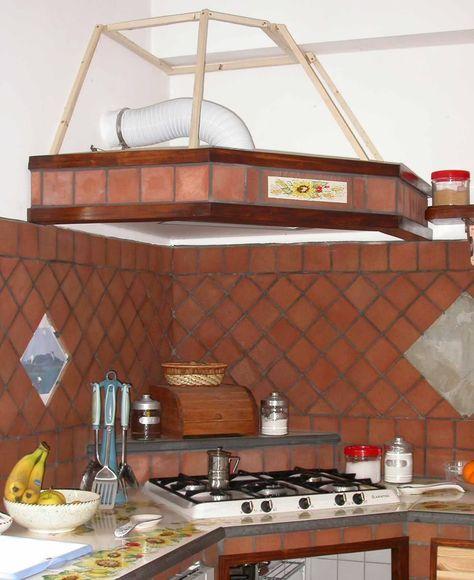 Cucina In Muratura Con Piano Cottura Ad Angolo.Cappe In Cartongesso Per Cucine Cappe Muratura Nel 2019