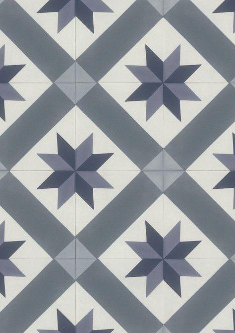 Gerflor Texline 2080 Cordoba Blue Avec Images Vinyle Carreaux De Ciment Carreaux De Ciment Salle De Bain Carreau De Ciment