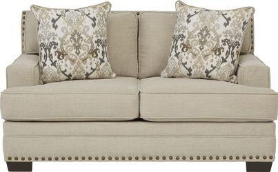 Belhaven Beige Sofa Rooms To Go Beige Loveseat Love Seat