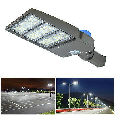 Details About 300w Led Parking Lot Light 1000w Mh Hps Equivalent 36 000lm Led Shoebox Lights In 2020 Parking Lot Lighting Led Parking Lot Lights Light Fixtures
