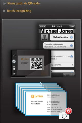 Camcard Business Card Scanner Business Card Scanner Cards Connection