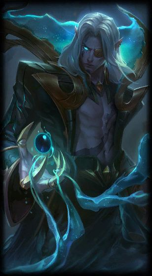 Dark Waters Vladimir Lol League Of Legends League Of Legends Game Alucard Mobile Legends