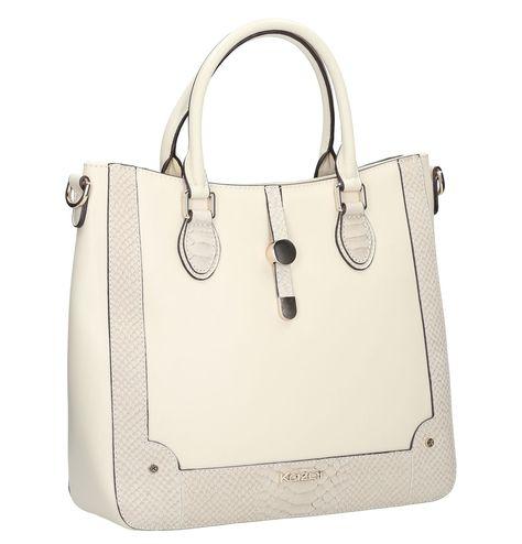 Kremowa Torebka Skorzana 25228 18035 16 29 Z Kolekcji 2015 Sklep Internetowy Kazar Bags Top Handle Bag Fashion
