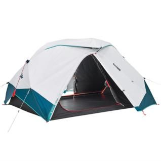 Quechua 2 Second Easy Fresh Black Waterproof Camping Tent 2 Person Tent Tent Camping Beach Camping Tips