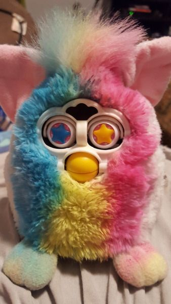 05 furby | Tumblr | furbies | Cool toys, Cursed images, Cute