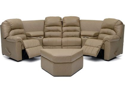 Palliser Leather Sectionals