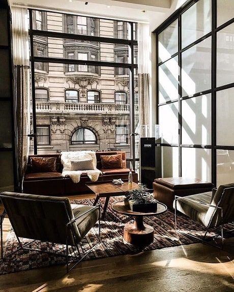 Courtney Schrank Design Studio On Instagram Cafe Au Lait Would Love To Be Sipping Coffee In This L Living Room Decor Cozy Cozy Living Rooms Interior Design