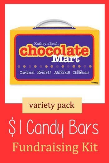 Kathryn Beich Variety Candy Bar Fundraising Kit 1 Chocolate Bars For Fundraising Candyfundraiser Dollarbarfundraise Candy Fundraiser Chocolate Fundraising