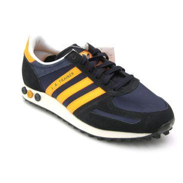 adidas la trainer nere arancio