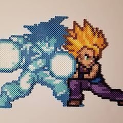 Im With You Gohan A Perler Of The Father Son Kamehameha