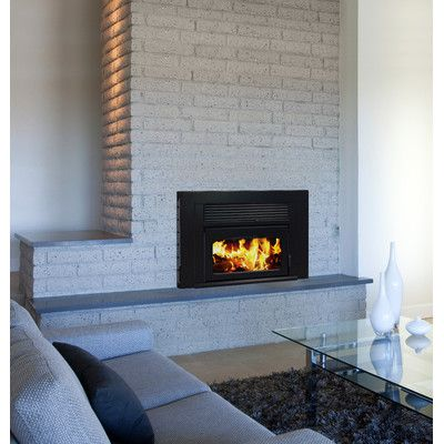 Supreme Fireplaces Inc Volcano Plus Wood Burning Fireplace Volp