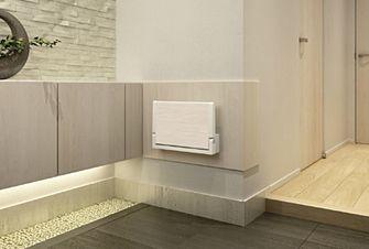 壁面イス リフォーム対応の後付できる壁付けベンチ アイエム 収納