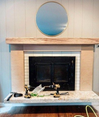 Genius Fireplace Makeover Design Ideas 13 Fireplace Makeover Fireplace Brick Fireplace Makeover
