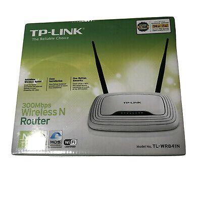 Tp Link Tl Wr841n 300mbps Wireless Wifi Router Ap Range Extender Wisp Mode Ebay Wireless Wifi Router Tp Link Wifi Router
