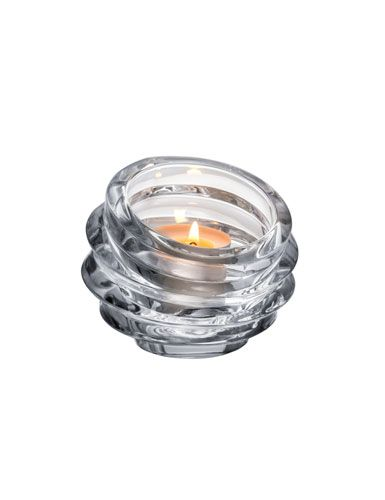 Orrefors Crystal Eko Crystal Votive Clear Votives Candles Candle Diffuser