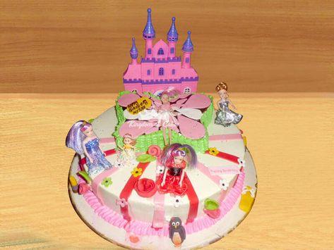 Tremendous Order Online Castle Cake For Kids Unique Designer Birthday Cakes Birthday Cards Printable Nowaargucafe Filternl