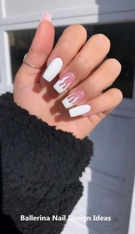 41 Ideas how to paint hair acrylic fun Nails - acrylic nails - coffin nails - natural n