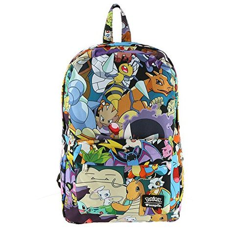 a2cbbd0d713d men women Canvas School Bags for teenagers Backpack Travel bag pokemon  Backpacks Preppy Style bagpack laptop