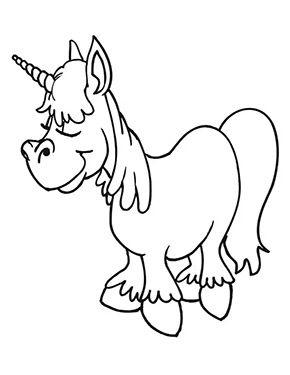 Ausmalbild Schlafendes Einhorn Zum Kostenlosen Ausdrucken Und Ausmalen Fur Kinder Ausmalbilder Unicorn Coloring Pages Cartoon Coloring Pages Coloring Pages