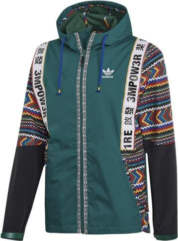 Adidas Originals Adidas Originals Pharrell Williams Solar Hu Shell Jacket Mens Green Mens Fashion Urban Stylish Men Adidas Pharrell Williams