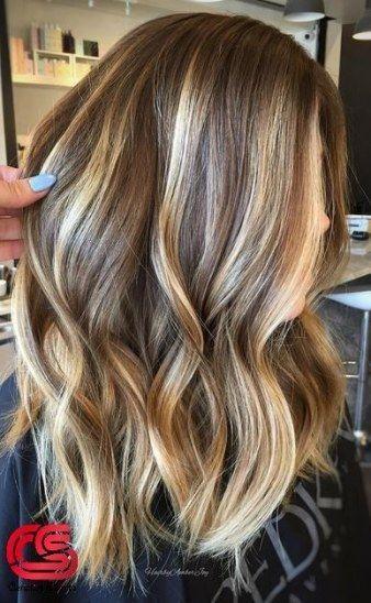 Trendy Haarfarbe Blond Mittel Fur Frauen 36 Ideen Blond Frauen Fur Haarf Brown Hair With Blonde Highlights Brown Blonde Hair Brown Hair With Highlights