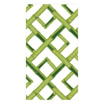 Bamboo Paper Guest Towel Napkins In Green 15 Per Package Paper Guest Towels Guest Towels Caspari