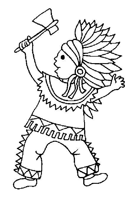 indians coloring pages  indianer ausmalbilder und