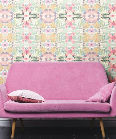 Another Great Find On Zulily Synchronized Floral Pink Peel Stick Wallpaper Zulilyfinds Peel And Stick Wallpaper Decor Decorating Solutions