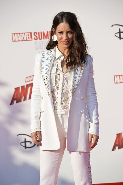 Actress Evangeline Lilly attends the European Premiere of Marvel Studios 'Ant-Man And The Wasp.'