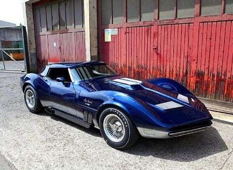 The 1965 Mako Shark Ii Is Gone But Hanspeter Bohi From Muenchenstein Switzerland Built A Spot On Replica Of The Most Impor Mako Shark Corvette Chevy Corvette