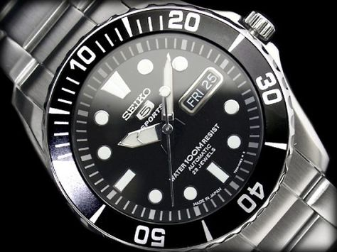 BEST QUALITY WATCHES - Seiko 5 Sports Men's Automatic SNZF17J1, £144.99 (http://www.bestqualitywatches.co.uk/seiko-5-sports-mens-automatic-snzf17j1/)