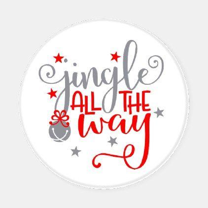 Coaster Christmas 2021 Jingle All The Way Christmas Bells Coaster Set Zazzle Com In 2021 Christmas Coasters Christmas Tags Printable Jingle All The Way