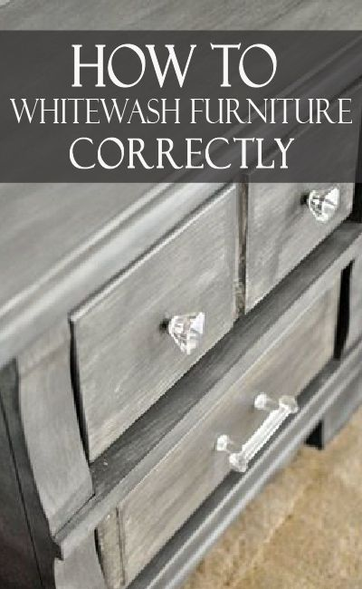 7 Tips To Whitewash Furniture White Washed Furniture Distressed