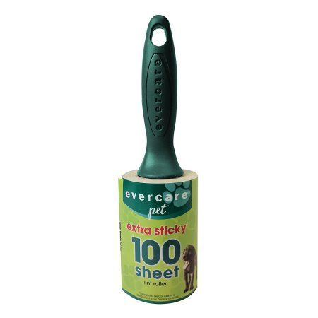 Evercare Pet Plus Extreme Stick Lint Roller 100 Sheet 9.5
