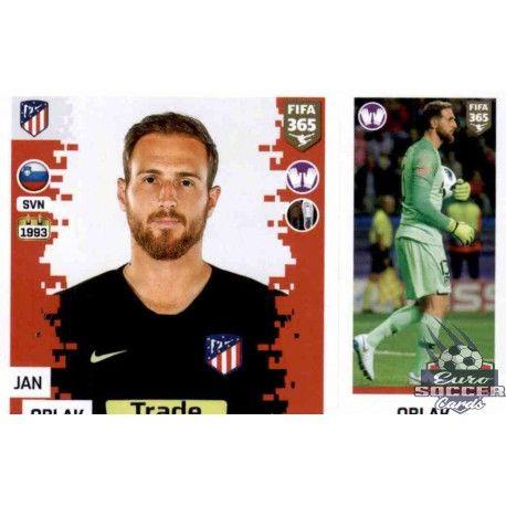 Manchester City Sticker 53 a//b Panini FIFA365 2019 Aymeric Laprte