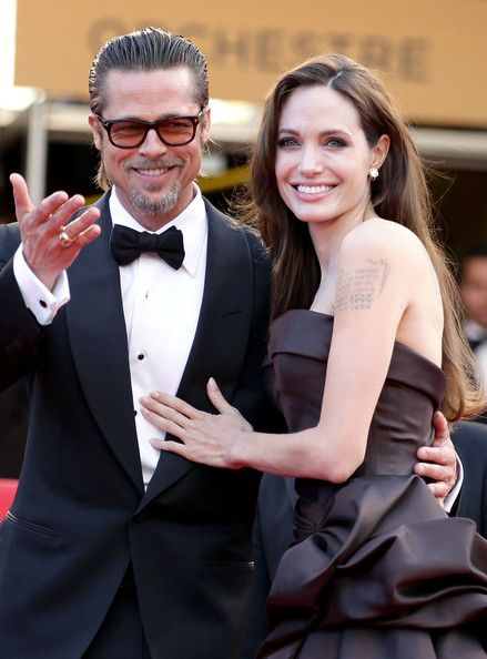 Angelina Jolie And Brad Pitt At The 2011 Cannes Film Festival - The Cutest Cannes Couple Moments Of The Decade - Photos