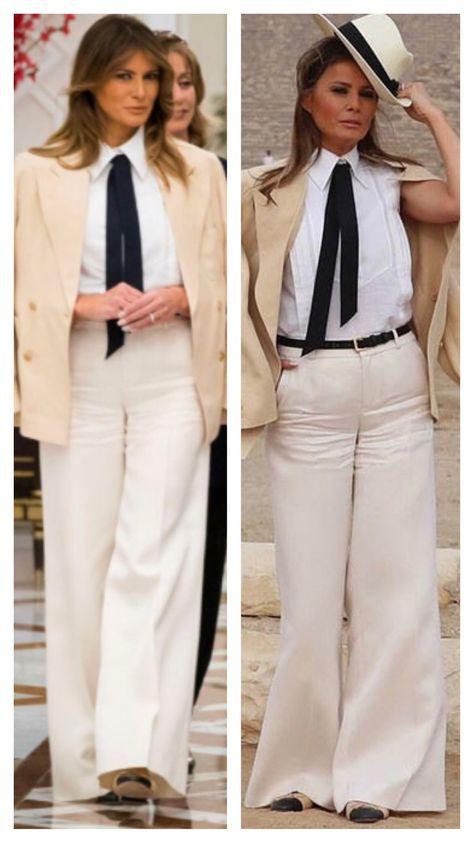 130c26f9d41e Melania Trump dons $9,400 Dior coat for Thanksgiving turkey pardoning
