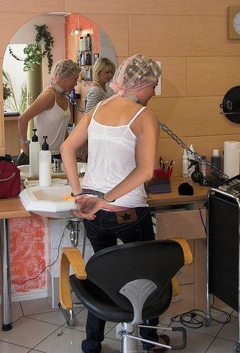 Hair roller bondage