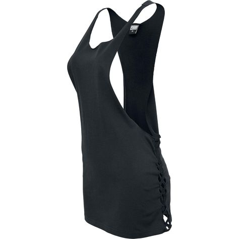 Side Knotted Loose Tank-Top Urban Classics