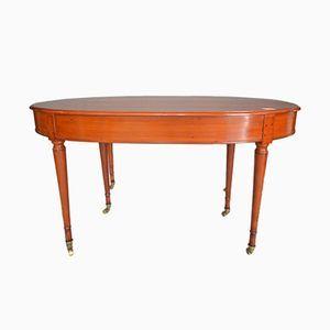 Tavolo Ovale Biedermeier Allungabile Inizio Xix Secolo Tavolo Tavolo Ovale Tavoli