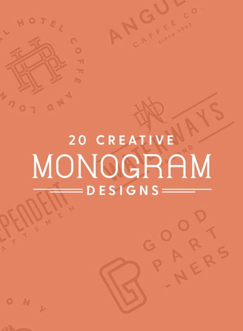 20 Creative Monogram Designs to Inspire Your Logo