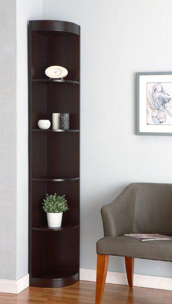 Fuhrmann Corner Bookcase Corner Decor Living Room Corner Corner Furniture