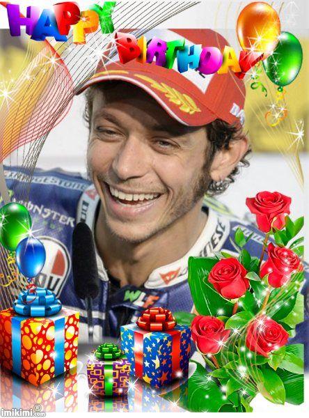 happy birthday Valentino rossi Pinterest – Valentino Rossi Birthday Card
