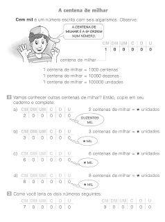 Sistema De Numeracao Decimal Ordens E Classes Exercicios