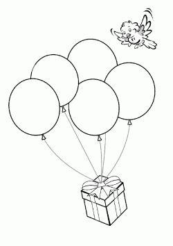 Ucan Balon Yapimi Balon Boyama Boyama Sayfalari Ve Balonlar