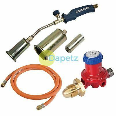 Propane Butane Gas Torch Burner 2 Metre Hose Regulator Blow Roofers Plumbers Kit 5056042005898 Ebay Roofer Plumber Torch
