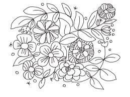 秋の花 無料 ぬりえ の画像検索結果 秋 花 ぬりえ 花火