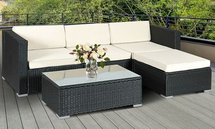 Up To 2 Off On Patio Furniture Set 12 Pc Groupon Goods Outdoor Patio Decor Patio Furniture Layout Patio Furniture