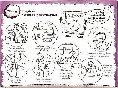 La Constitucion Es La Ley Mas Importante De Una Nacion Es Un Documento Legal Qu Constitucion Mexicana Constitucion Mexicana Para Ninos Constitucion Para Ninos