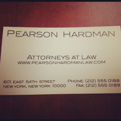 Pearson Hardman Suits Series Profile Pics And Suits